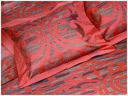 Постельное белье Maldive, сатин атлас жаккард с люрексом