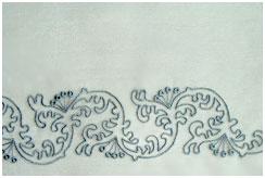 Органза с вышивкой