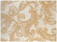 Ткань Асанто - жаккард с люрексом Золото