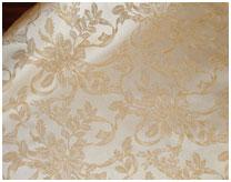 Ткань Агрифолио - жаккард с люрексом Золото