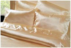 Комплект шелкового постельного белья Шелк атлас