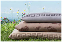 Элитное постельное белье Меандр коллекции HEFEL лиоцель Tencel Classic Colours
