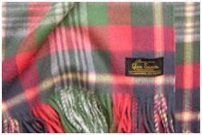 Шерстяной с ангорой шарф Glenegl