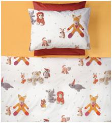 Детское постельное белье Little Friends, поплин Christian Fischbacher