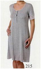 Женская ночная сорочка большого размера из вискозы MicroModal