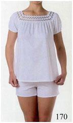 Пижама женская, хлопок, трикотаж