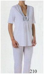 Пижама женская, хлопок трикотаж