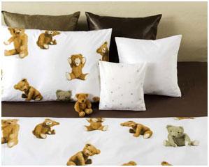 Детское постельное  белье Мишки, поплин Christian Fischbacher