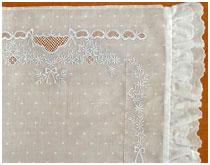 Образец 3 вышивки для постельного белья новорожденным