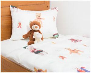 Детское постельное  белье Мишки, лиоцель Tencel