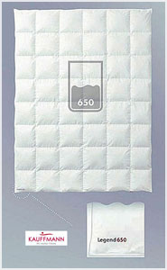 Пуховое одеяло Legend 650