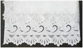 Кадомский вениз - образцы отделки края скатерти