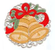 Салфетка Новогодний колокольчик