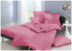 Однотонное  постельное белье из сатина