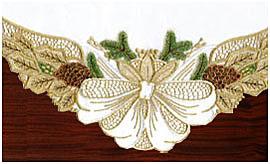Вышивка Праздничный