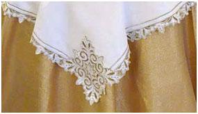 Скатерть с вышивкой Снежана
