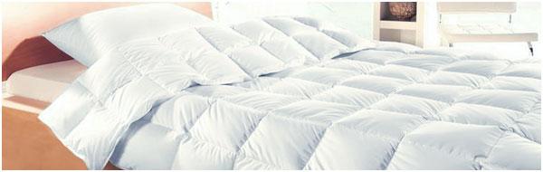 Пуховое одеяло всесезонное