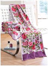 Шенилловые полотенца Peony