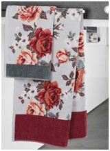 Шенилловые полотенца Rose